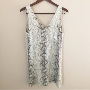 Parker silk and sequin shift dress. Size S